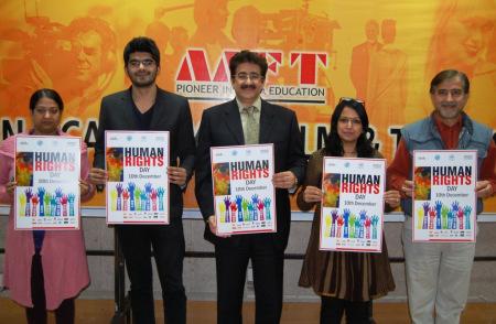 Human Rights Day at Marwah Studios