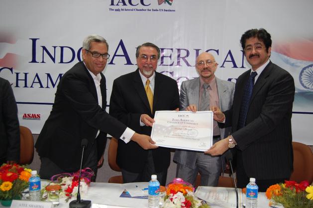 Sandeep Marwah Honored By IACC