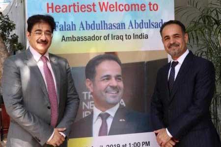 Dr. Falah Abdulhasan Abdulsada Parton to Indo Iraq Cultural Forum