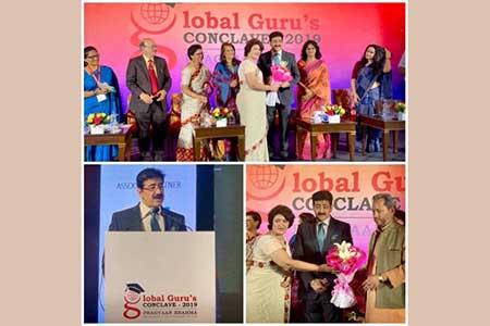 Sandeep Marwah Honored As Global Media Guru at Global Guru Conclave