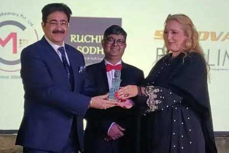 Sandeep Marwah Honored with The Alexander Award in Greece