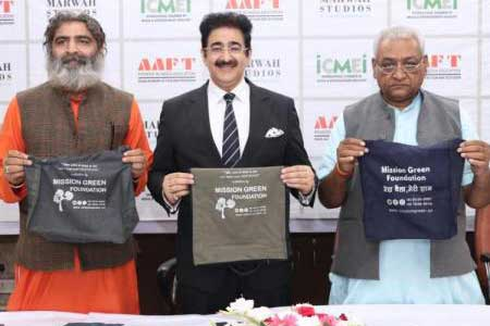 Marwah Studios Supports No Plastic Bags Campaign