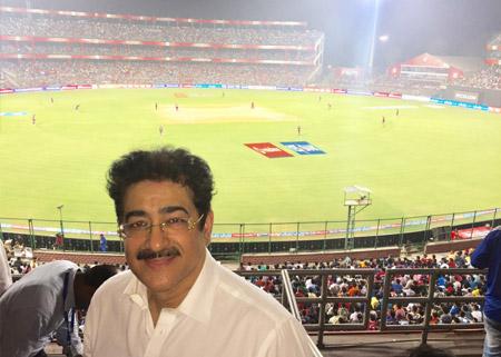 Sandeep Marwah at Ferozshah Kotla Stadium