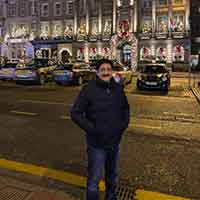 Chief Scout For India Sandeep Marwah Visited Scotland