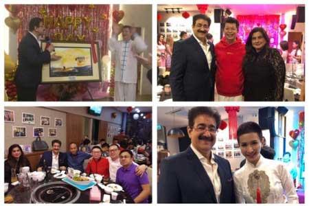 Sandeep Marwah Honored at Grand Gala Dinner At Malaysia